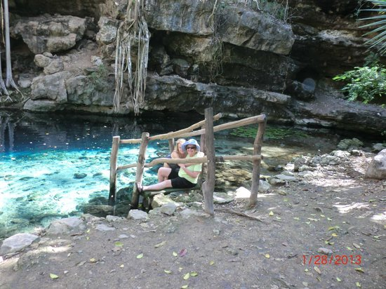 Cascadas de Merida:                   Arlene and Estelle