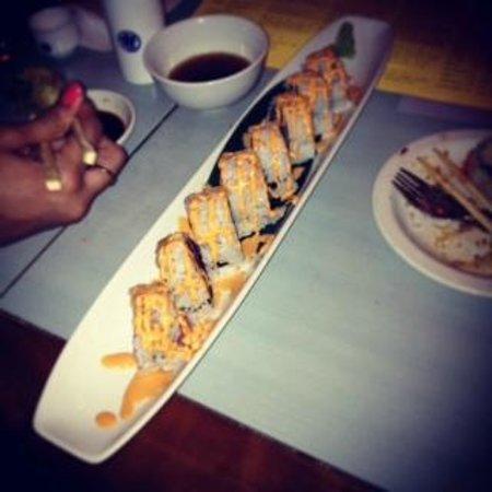 Towa Sushi:                   Spicy Salmon Rolls