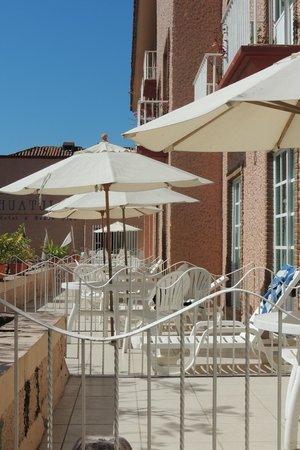 Hotel Castillo Huatulco Hotel & Beach Club:                   front balcony