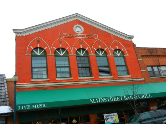 Mainstreet Bar & Grill:                   Opera Hall ... Mainstreet Bar and Grill ....