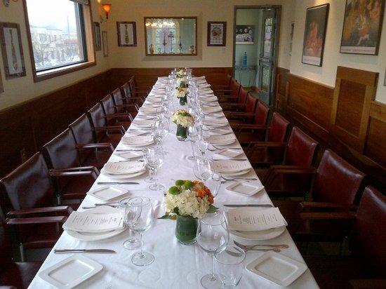 ViBo: Private Dining