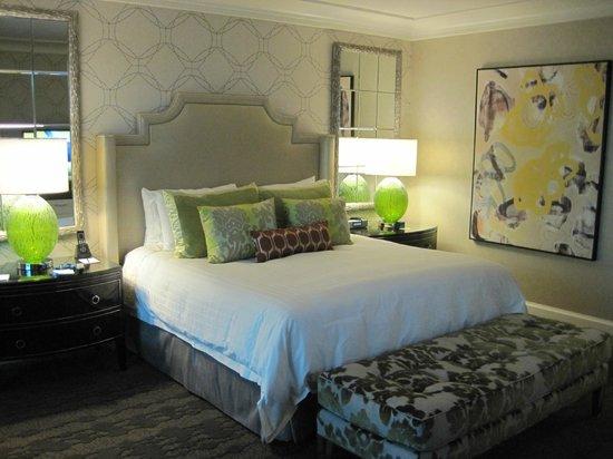 Four Seasons Hotel Las Vegas:                   The room                 