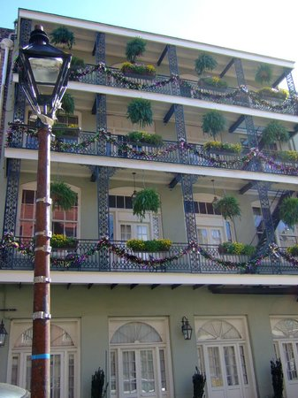 House of the Rising Sun Bed and Breakfast:                   Decatur St, French Quarter