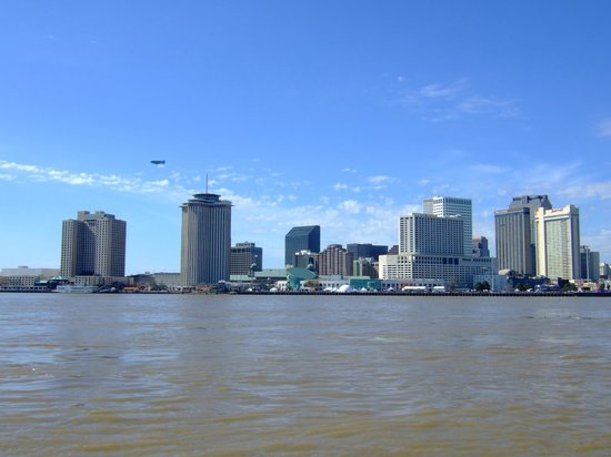 House of the Rising Sun Bed and Breakfast:                   New Orleans skyline