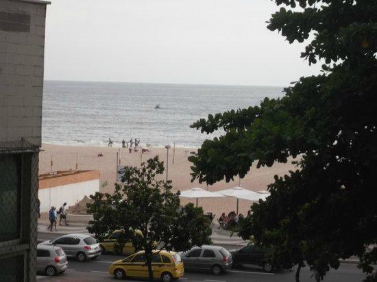 Tulip Inn Rio Copacabana:                   Vista da lateral do hotel,aproximei a imagem.