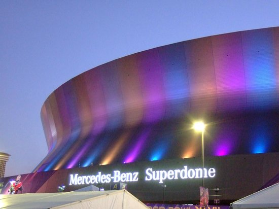 House of the Rising Sun Bed and Breakfast:                   Superdome