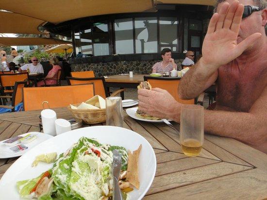 JA Jebel Ali Beach Hotel : Anchor Caesar salad