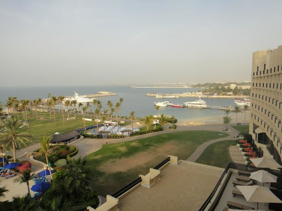 JA Jebel Ali Beach Hotel : View from our hotel room