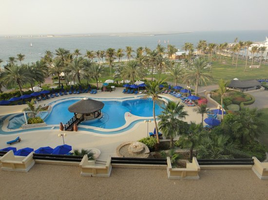 JA Jebel Ali Beach Hotel: View from our room