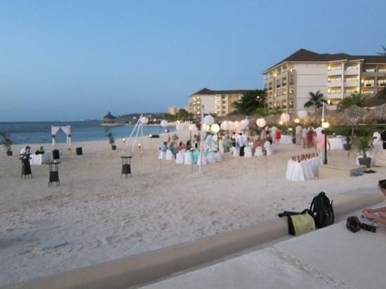Secrets Wild Orchid Montego Bay:                   Hochzeit während unseres Aufenthalts