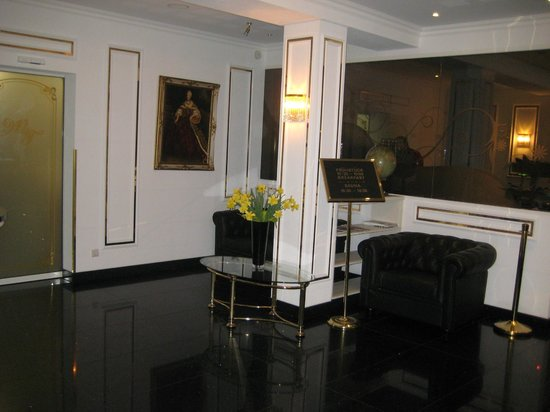 Hotel Maria Theresia:                   reception