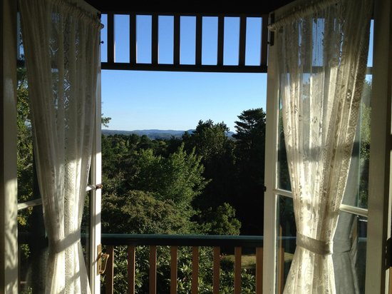 Leura House:                   The view from our room