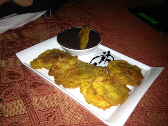 Maracatu:                   Plantains with refried black beans