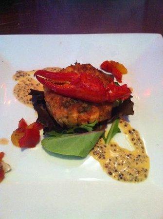 Torch Bistro:                   salmon crab cake!