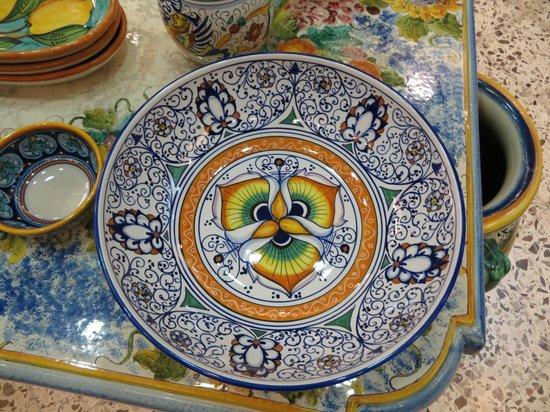 Ravello, Italy:                   Ceramics
