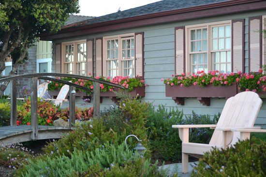 Sea Otter Inn:                   Room on End with Private Chairs