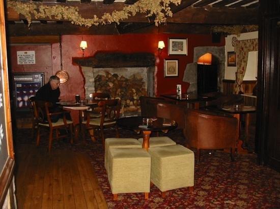 Star Inn:                   The Bar area