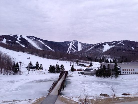 Killington Grand Resort Hotel:                   View from our room (214)