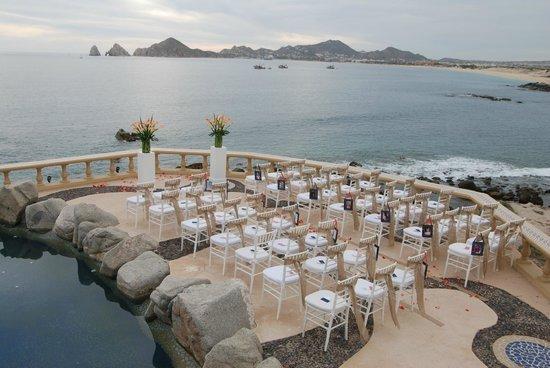 Sunset De La Mona Lisa Cabo San Lucas Mexico Destination Wedding Venue Www Barefootbridal