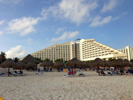 Iberostar Cancun: view from the beach
