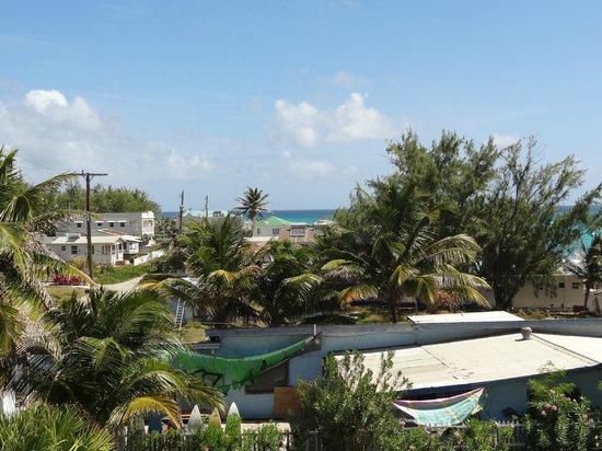Silver Point Hotel:                   Vue depuis le balcon
