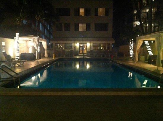 The Mimosa Hotel: Vista de la Piscina