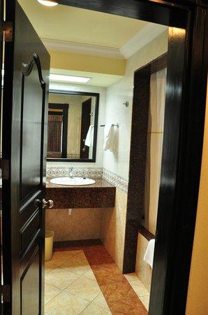 Hotel Riu Palace Punta Cana:                                     bathroom