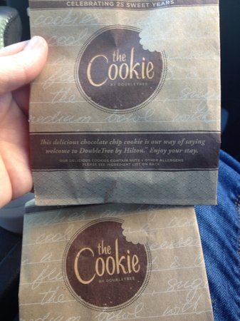 Park Vista - DoubleTree by Hilton Hotel - Gatlinburg:                   Our WARM cookies @ check-in. BEST COOKIE we've ever eaten!