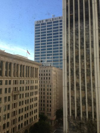 Hilton Checkers Los Angeles:                   View out of our window