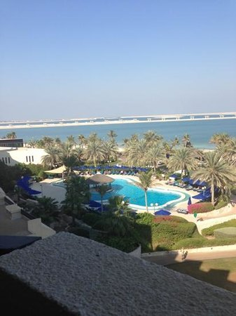 JA Jebel Ali Beach Hotel :                   view from our room