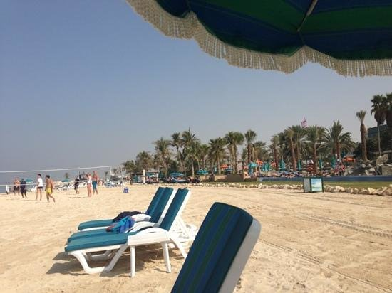 JA Jebel Ali Beach Hotel:                   beach time!