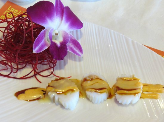 Ginger Garden: A creative appetizer from the sushi chef