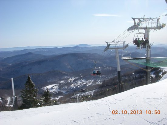Killington Resort:                   Looking Southeast