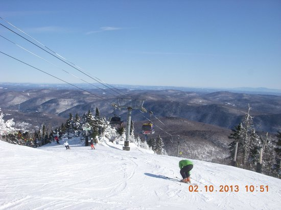 Killington Resort:                   Looking Northeast