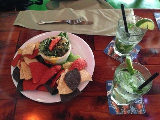 Old Key Lime House:                   Appetizer - Spinach Dip