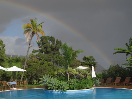 Quinta Jardins do Lago:                                     rainbow!