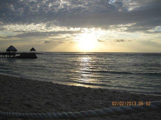 Oasis Tulum:                   Sunrise
