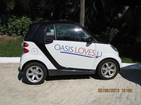Oasis Tulum:                   You can rent these cars form the hotel if you wish.