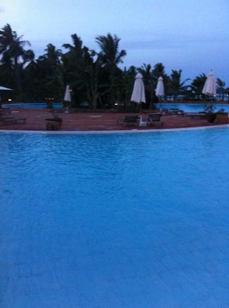 Dongwe Club:                   vista piscina