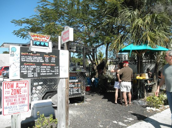 Restaurant Review g d Reviews Garbo s Grill Key West Florida Keys Florida.