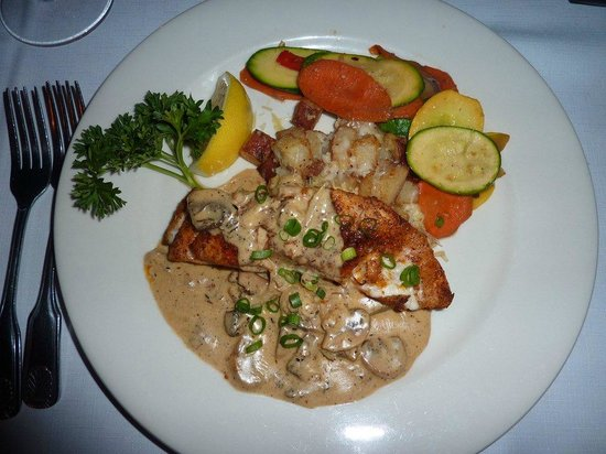 "Borrell Creek Landing: Grouper ""redhouse"""