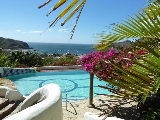 Pelican Eyes Resort & Spa:                   Overlooking San Juan Del Sur