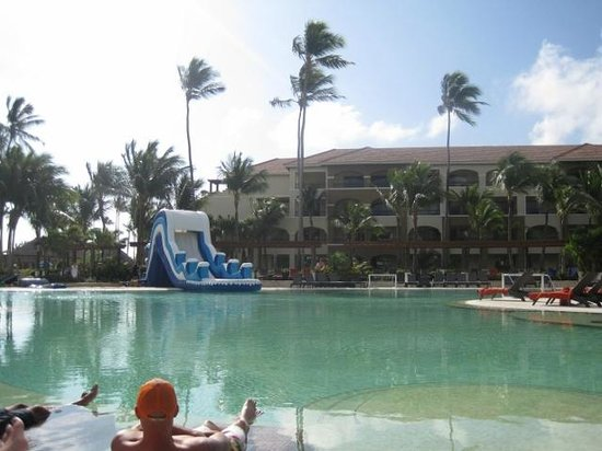 Now Larimar Punta Cana:                   inflatable waterslide