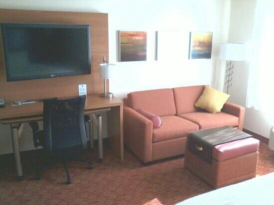 TownePlace Suites Eagle Pass :                                     king room