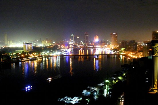 Four Seasons Hotel Cairo at Nile Plaza:                   Our view - Nile