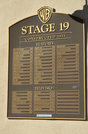 Studio Tour Hollywood one of many stage doors & one of many stage doors - Picture of Warner Bros. Studio Tour ...