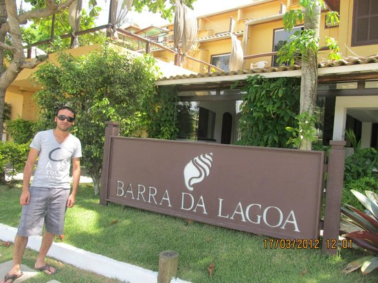 Barra da Lagoa:                   Entrada al Hotel