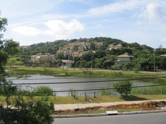 Barra da Lagoa:                   Vista al Lago