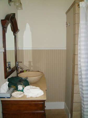 Amsterdam's Curry Mansion Inn:                   Bath Master Suite