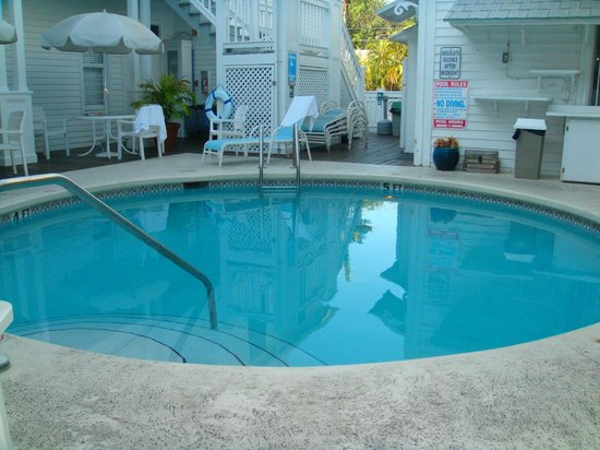 Amsterdam's Curry Mansion Inn:                   Pool